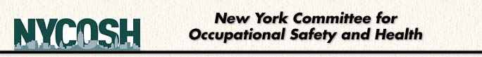 NYCOSH – New York Committee for Occupational Safety and Health