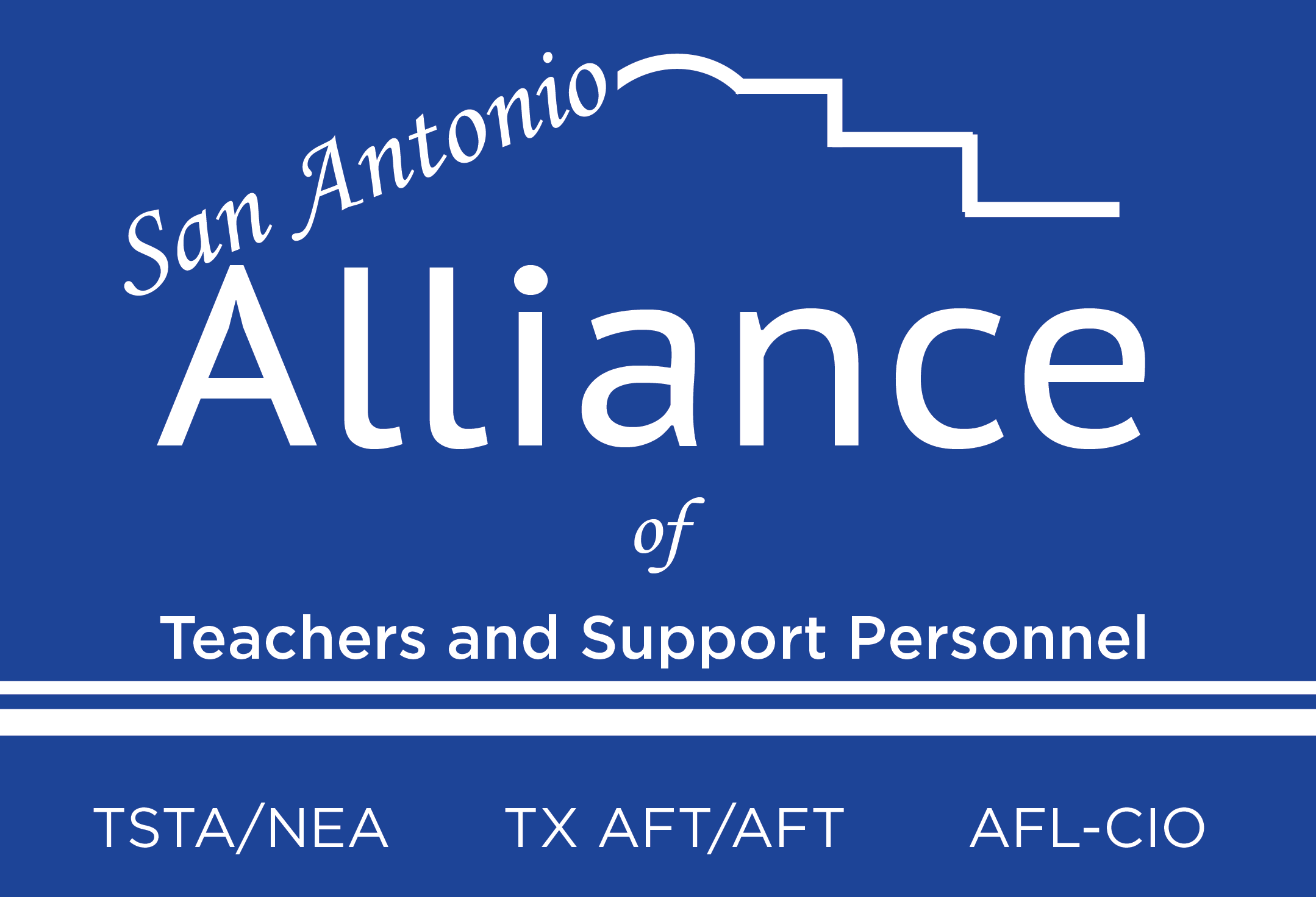 San Antonio Alliance of Teachers and Support Personnel logo